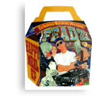Feadz - Happy Meal EP  Metal Print