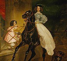 a-rider  K. P. Briullow by Adam Asar