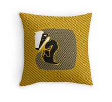House Pillow: just and loyal Throw Pillow