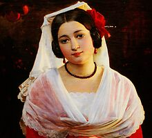 August Riedel Felice Berardi aus Albano 1842 by Adam Asar