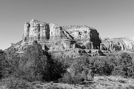 Courthouse Butte  by Fern Blacker
