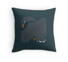 House Pillow: wit and learning Throw Pillow