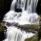 Crashing Peacefully - Ebor Falls - NSW - Australia by Norman Repacholi