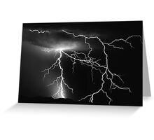 Lightning and Thunder Greeting Card