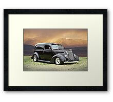 1937 Ford Delivery Sedan Framed Print