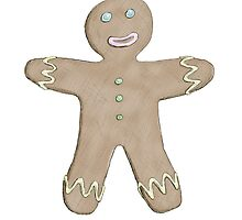 Gingerbreadman by Jennifer Kilgour