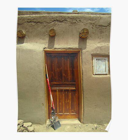 Working Door Poster