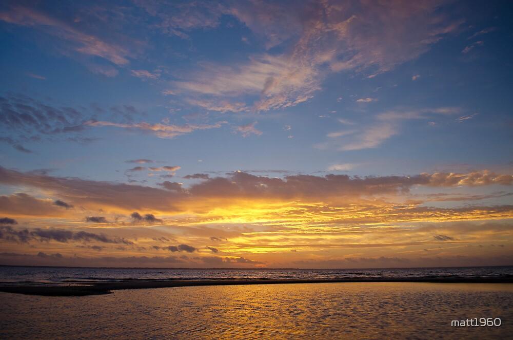 10 December 2012 Sun Rise over Escambia Bay by matt1960