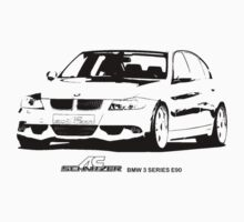 BMW 3 Series E90 2005 by garts