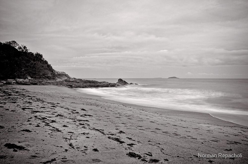 Erosion of time - Korora - NSW - Australia by Norman Repacholi