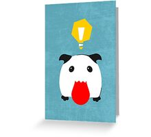 [Classic] The Idea Poro Greeting Card
