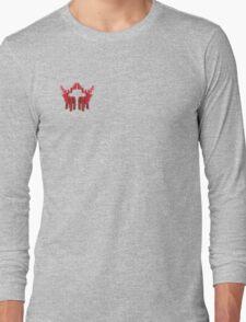 Elk Emblem Long Sleeve T-Shirt