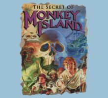 The Secret of Monkey Island One Piece - Short Sleeve