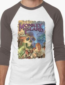 The Secret of Monkey Island Men's Baseball ¾ T-Shirt