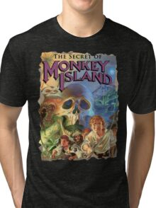 The Secret of Monkey Island Tri-blend T-Shirt