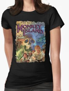 The Secret of Monkey Island Womens Fitted T-Shirt