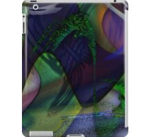 butterfly distortion iPad Case/Skin