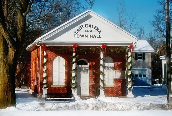 The Old Town Hall by Nadya Johnson