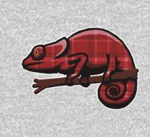 Plaid Chameleon One Piece - Long Sleeve