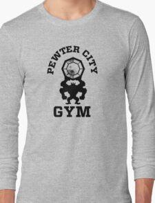 Pewter City Gym Long Sleeve T-Shirt