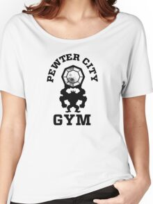 Pewter City Gym Women's Relaxed Fit T-Shirt