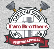 Two Brothers Plumbing Kids Clothes