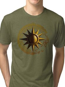 Simple Golden Sun Tri-blend T-Shirt