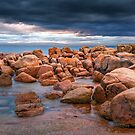 Rocks, Richardsons Beach by John Conway