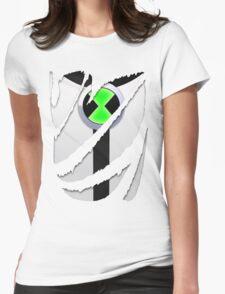 Torn Shirt - Ben 10 Womens Fitted T-Shirt