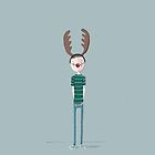 Reindeer boy by Kate Kingsmill