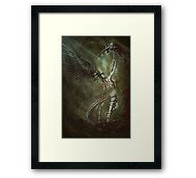 Angel Scythe Framed Print