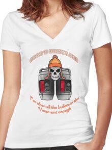 Cobb's Grenades Women's Fitted V-Neck T-Shirt