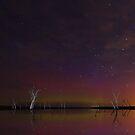 Kow Swamp aurora by Robyn Lakeman
