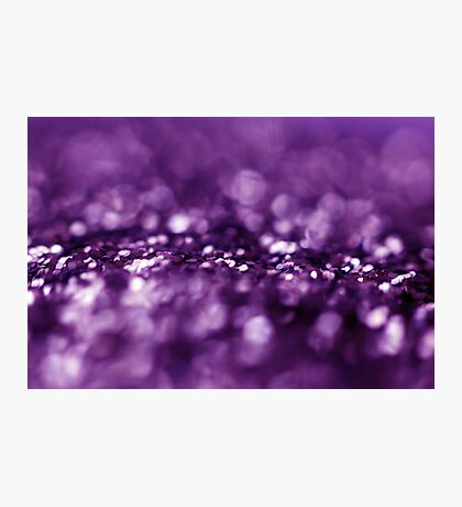 Dreaming in Purple Photographic Print
