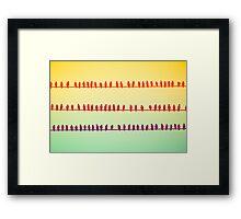 Idle Chatter Framed Print