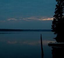 Jordan Lake Sunrise by jessicacbarker