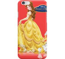 belle beauty and the beast iPhone Case/Skin