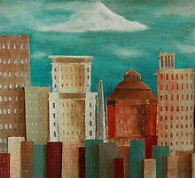 Asheville Skyline by GrayA
