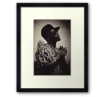 Killa Dan The Rapper Framed Print