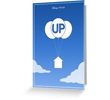 Up film poster Greeting Card
