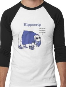 Hippocrip Men's Baseball ¾ T-Shirt