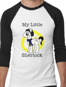 My Little Sherlock Men's Baseball ¾ T-Shirt