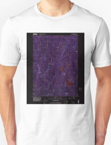 USGS TOPO Map New Hampshire NH East Lempster 329547 1998 24000 Inverted T-Shirt