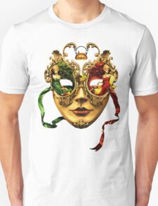 beautiful Lady with Mask T-Shirt
