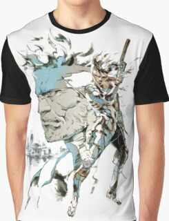 Metal Gear Solid 2: Sons of Liberty  Graphic T-Shirt