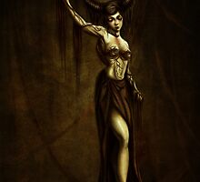 Demoness by Danemous