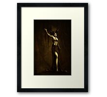 Demoness Framed Print