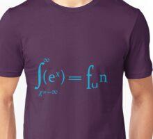 Sex equals fun mathematics symbols  Unisex T-Shirt