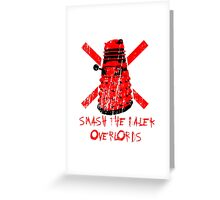 Dalek Overlords Greeting Card