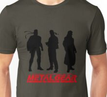 Metal Gear Solid Boss and Snakes Unisex T-Shirt